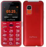 Телефон myPhone Halo Easy, Червен