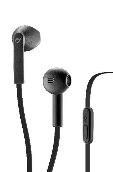 Аудио слушалки с микрофон LOUD AQL, Черни