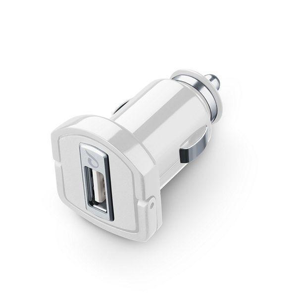 Зарядно за кола 12/24V 5W за iPhone, Бяло