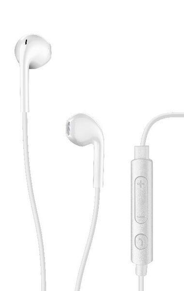 Стерео слушалки с микрофон AQL Live+, Бели