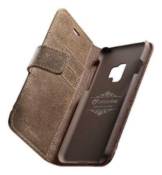 Калъф Book Supreme за Samsung Galaxy S9, Кафяв