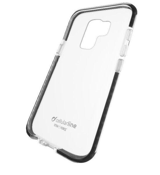 Усилен калъф Tetra за Samsung Galaxy S9 Plus, Черен