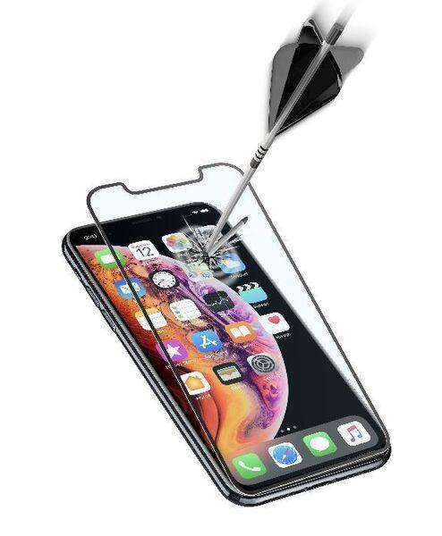 Закалено стъкло 3D за iPhone Xs Max/11 Pro Max, Чeрнo