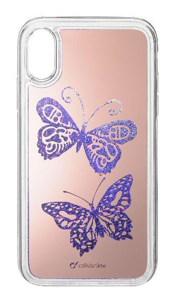 Калъф Stardust за iPhone XR, Butterfly
