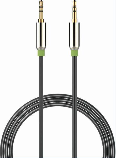 Аудио кабел Devia 3.5мм, стерео жак
