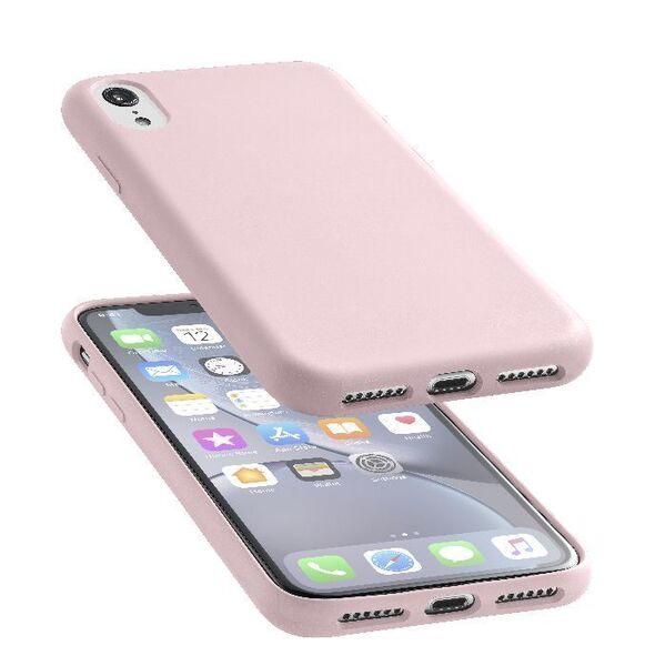 Луксозен калъф Sensation за iPhone XR, Розов