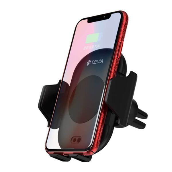 Стойка за кола с безжично зареждане и IR сензор