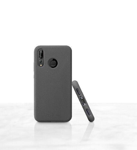 Матов калъф Sensation за Huawei P30 Lite, черен