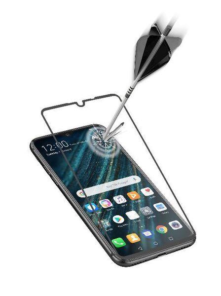 Закалено стъкло за Huawei P30, Черно