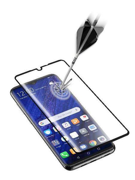 Закалено 3D стъкло за Huawei P30 Pro, черно