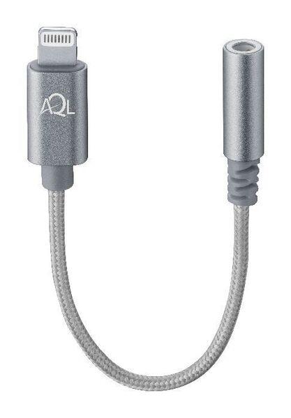 Усилен преходник аудио 3,5мм към Lightning