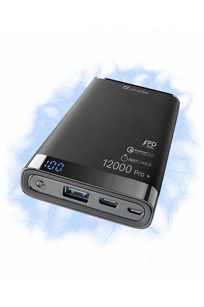 Външна батерия Manta S 12000mAh PRO+ USB-C