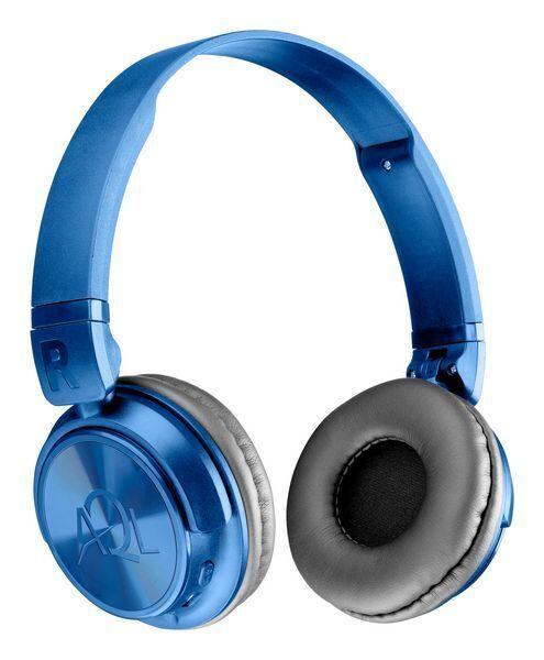 Bluetooth Стерео слушалки HELIOS AQL, Сини