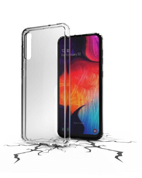 Прозрачен твърд калъф ClearDuo за Samsung Galaxy A50