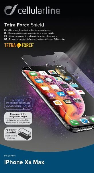 Усилено закалено стъкло Tetra Force за iPhone XS Max / 11 Pro Max