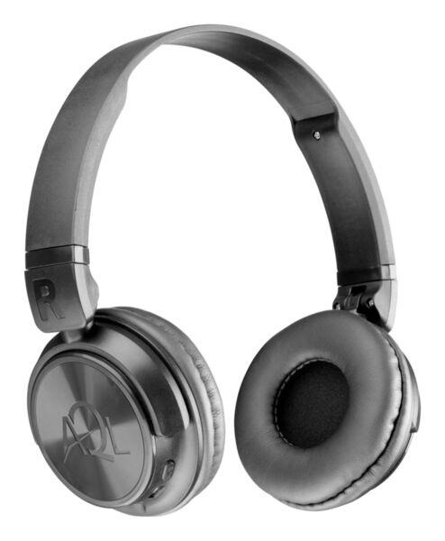 Bluetooth стерео слушалки HELIOS AQL, Черни