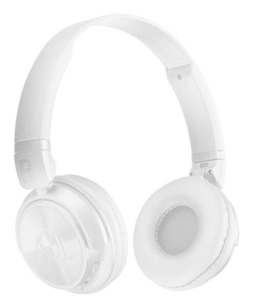 Bluetooth стерео слушалки HELIOS AQL, Бели