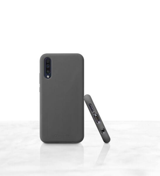 Матов калъф Sensation за Samsung Galaxy A50, Черен