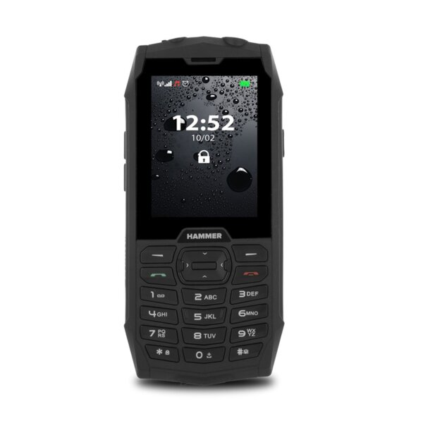 Мобилен телефон Hammer 4, Черен
