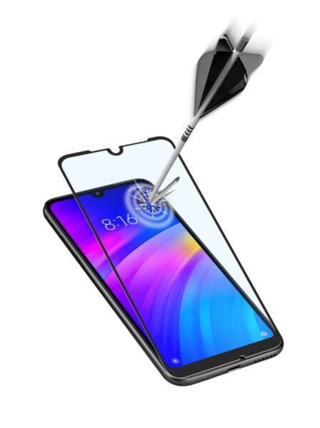 Закалено стъкло за Xiaomi Redmi 7 черно