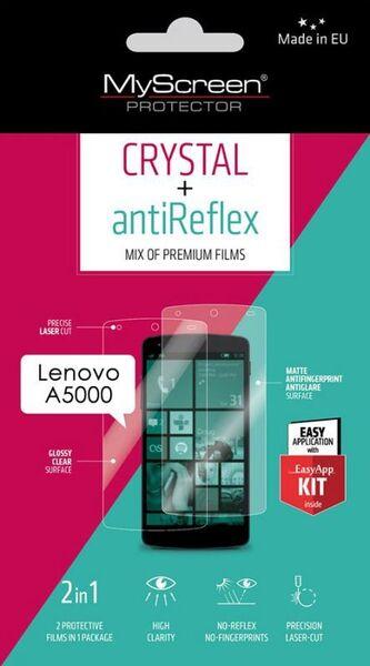 Предпазно фолио кристал и мат за Lenovo A5000