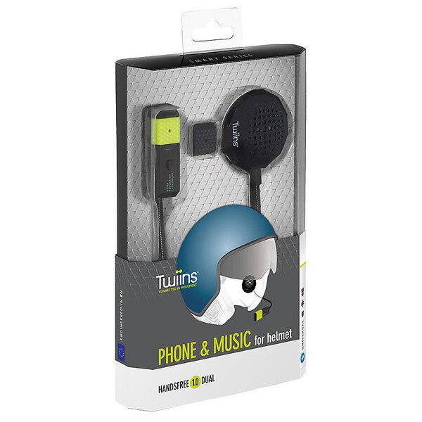 Bluetooth слушалка за каска Twiins HF1 Dual