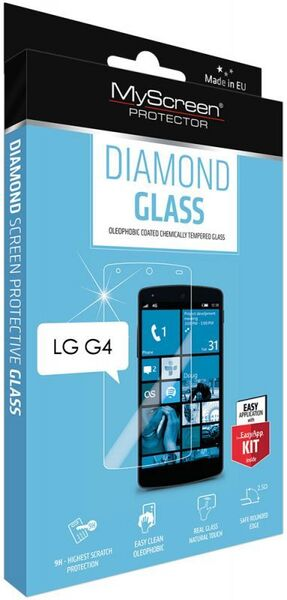 Закалено стъкло Diamond glass за LG G4