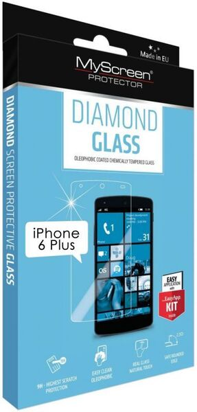Закалено стъкло Diamond glass за iPhone 6 Plus/6S Plus