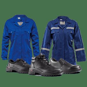 Работно облекло и предпази средства Изображение