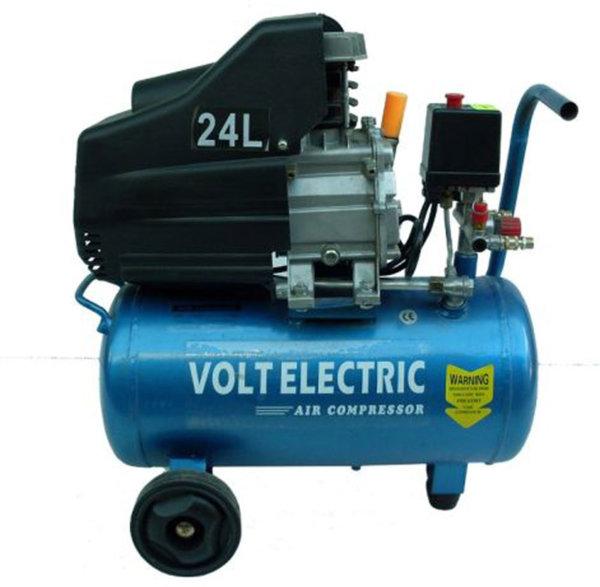 РАЗПРОДАЖБА Компресор за въздух 24л. , 8 bar, VOLT Electric