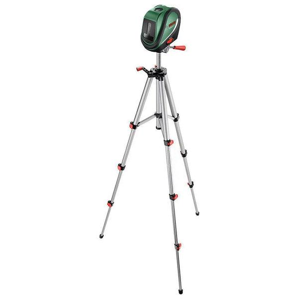 Нивелир лазерен линеен 10м, 0.5 мм/ 1м, с тринога комплект, Bosch Universal Level 2