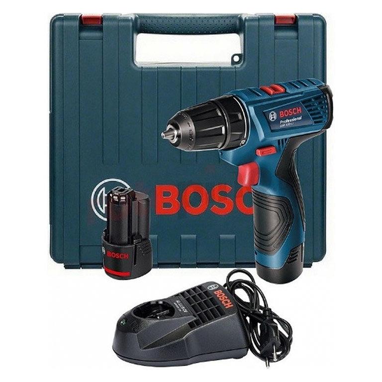 Винтоверт акумулаторен Li-Ion 12V, 1.5Ah, 13/30 Nm, Bosch GSR 120-Li Professional