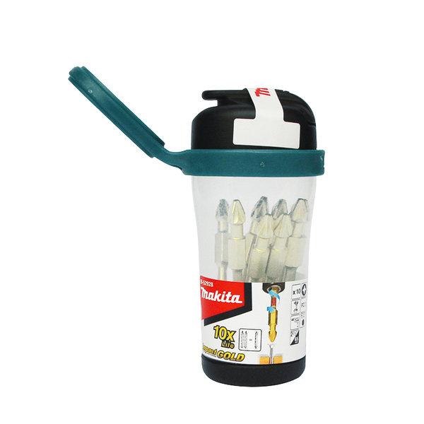 Магнитна бутилка с накрайници PZ 2/PZ 2, 65мм, 10бр, Makita B-52928-6