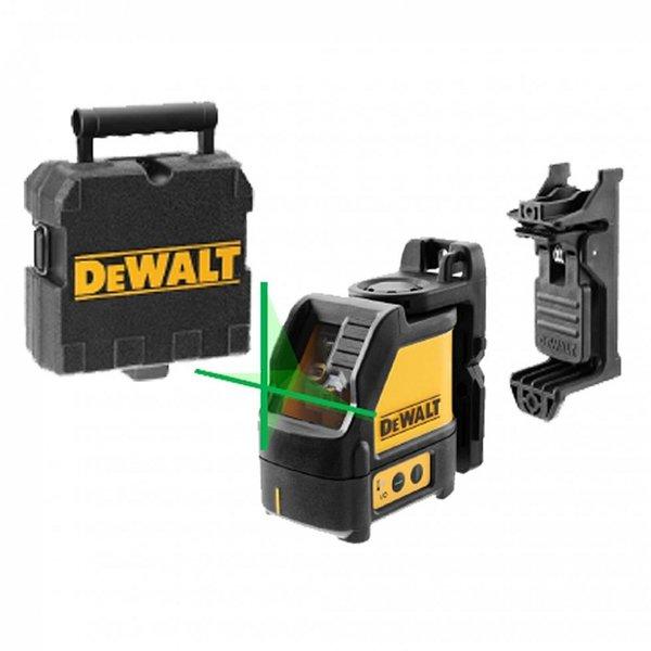 Нивелир лазерен линеен 20м, 0.3 мм/ 1 м, DeWALT DW088CG