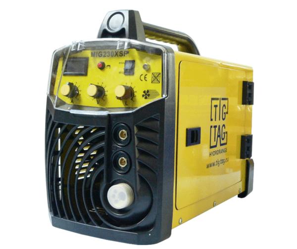 Телоподаващ апарат с електрожен 230A, евроконектор MIG/MMA-230XSP
