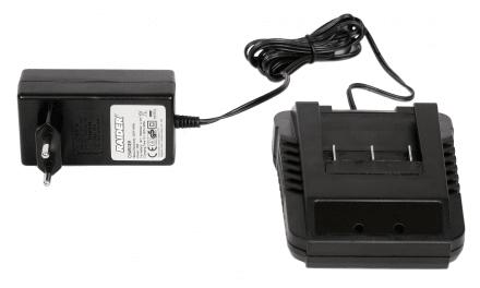 Зарядно за акумулаторни градински машини Li-ion 18V RAIDER RD-CBL04