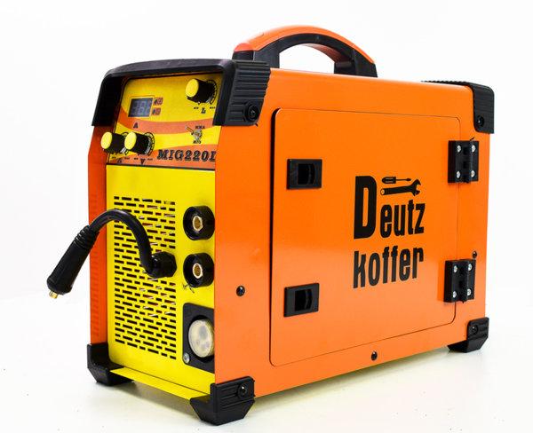 Телоподаващ апарат с електрожен Deutz koffer MIG 220DK
