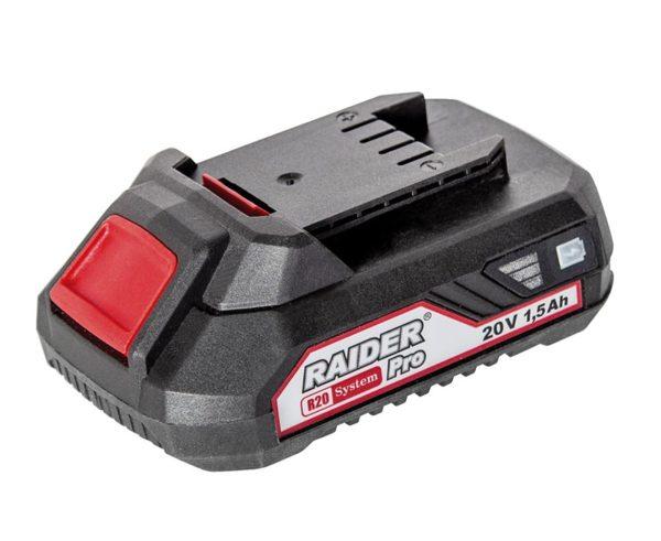 Батерия акумулаторна 1,5Ah, 20V DC за серия RAIDER R20 System