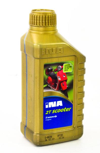 Двутактово масло полусинтетично 1л., INA 2T