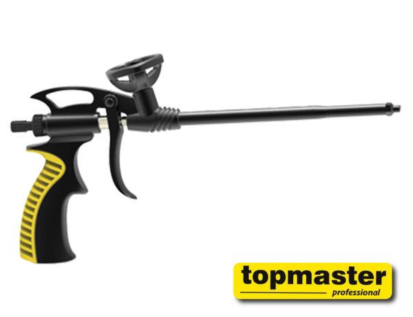 Пистолет за полиуретанова пяна с незалепващо тефлоново покритие Topmaster 491308