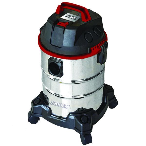 Прахосмукачка за сухо и мокро 1250W 20L RAIDER Inox RD-WC10