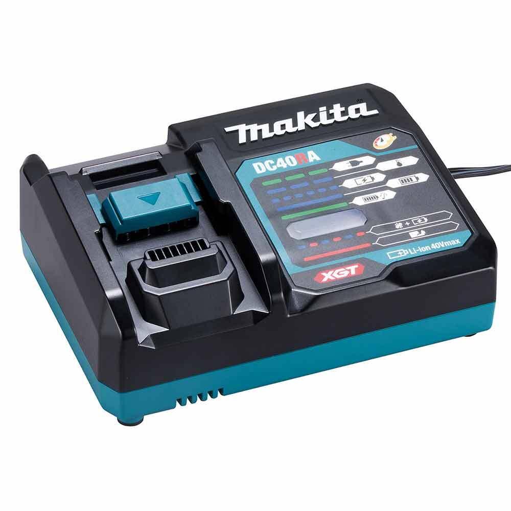 Ъглошлайф Makita GA023GM201 акумулаторен безчетков, 40V MAX, XGT Серия, 125 мм
