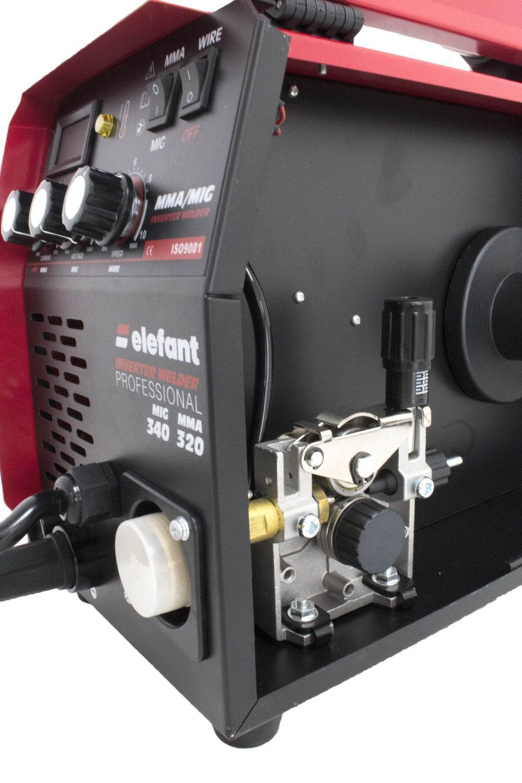Телоподаващ комбиниран апарат Elefant MMA 320 MIG 340 с инверторен електрожен