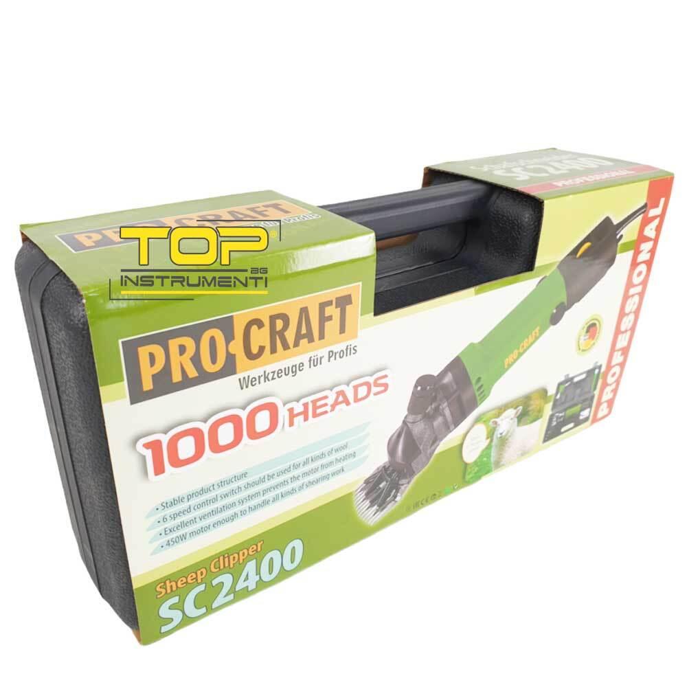 Ножица за подстригване на овце PROCRAFT SC2400