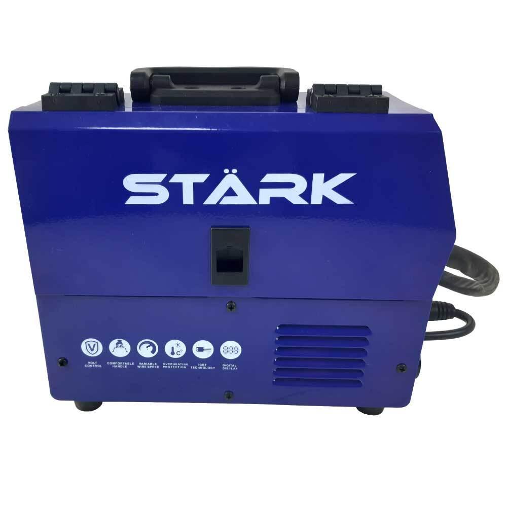 Телоподаващ апарат STARK MIG 230CD с електрожен, заваряване с и без газ