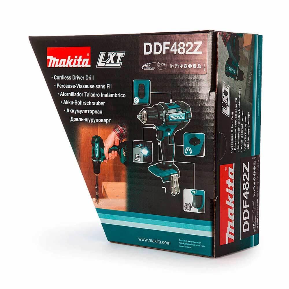 Винтоверт MAKITA DDF482Z акумулаторен Li-Ion 18V, 62Nm