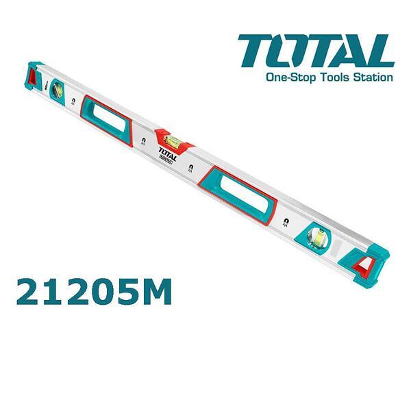 Нивелир TOTAL Industrial TMT21205M, 1200 мм, магнитен, с три либели