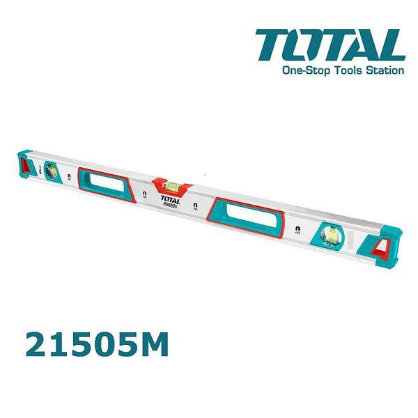 Нивелир TOTAL Industrial TMT21505M, 1500 мм, магнитен, с три либели