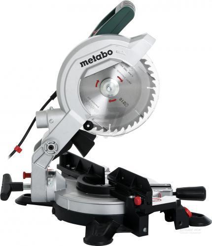 Герунг Циркуляр 1350W Metabo KS 216 M Lasercut с лазер