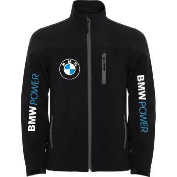 """Αντρικό Αντιανεμικό και Αδιάβροχο """"SoftShell"""" Μπουφάν BMW Power"""